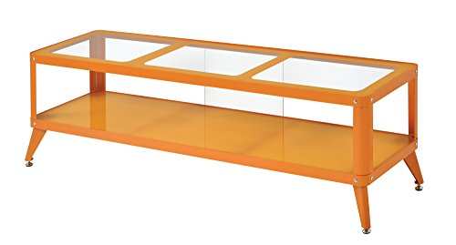 247SHOPATHOME IDF-5273OR-TV-72 Atos TV Stand, Orange