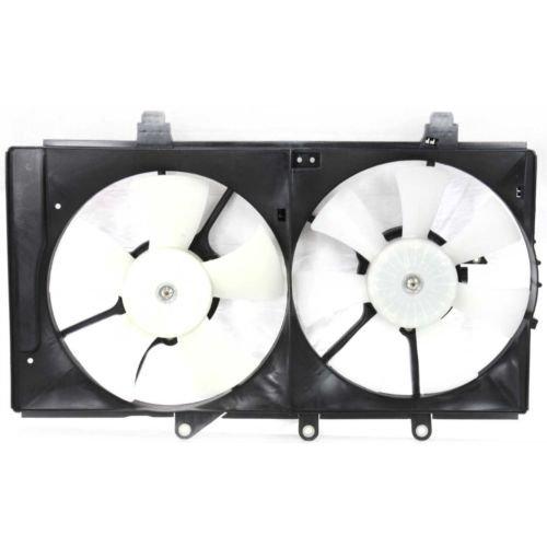 MAPM Premium NEON 04-05 RADIATOR FAN SHROUD ASSEMBLY, Auto Trans, Dual Fan, 4 Speed, 2.0L ENG.