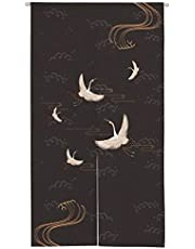 """Ofat Home Japanese Noren Doorway Curtain Tapestry for Bedroom Kitchen Bathroom Partition Shading Window Blind Wall Haning Decor, Customizable, 33.5""""x59"""""""
