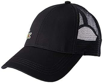 Lacoste Men's Trucker Cap, Black, 10