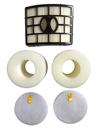 Foam Felt HEPA Filter Kit For Shark Rotator NV650 NV750W XHF650 NV652 NV751