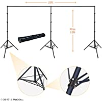 Linco Lincostore 12x20 feet Heavy Duty Photography Backdrop Stand Background Support System Kit 4169H