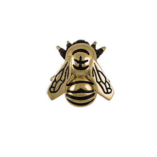 Bumblebee Door Knocker - Brass (Standard Size) (Door Surface Knocker Mount)