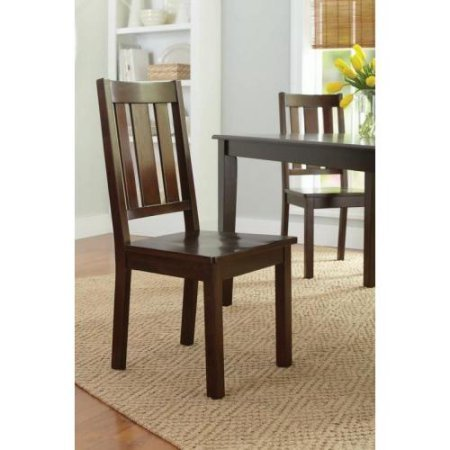 Better Homes and Gardens Bankston Dining Chairs, Set of 2, Mocha by Better Homes & Gardens (Image #1)