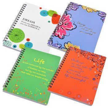 Inspirational Spiral Notebooks Design pictured product image