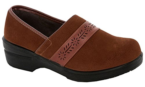 Sling Women's Brown Clogs Back 2415 Rasolli qfx6vx