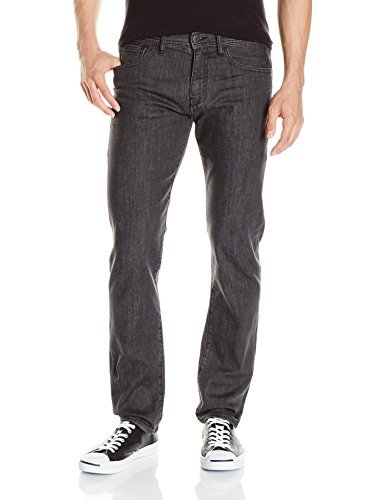 A|X Armani Exchange Men's Straight Fit Grey Jean, Denim, 28R