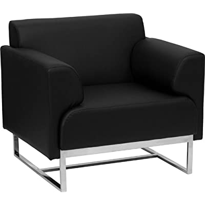 1pc Modern Leather Office Reception Sofa Chair, FF 0457 12