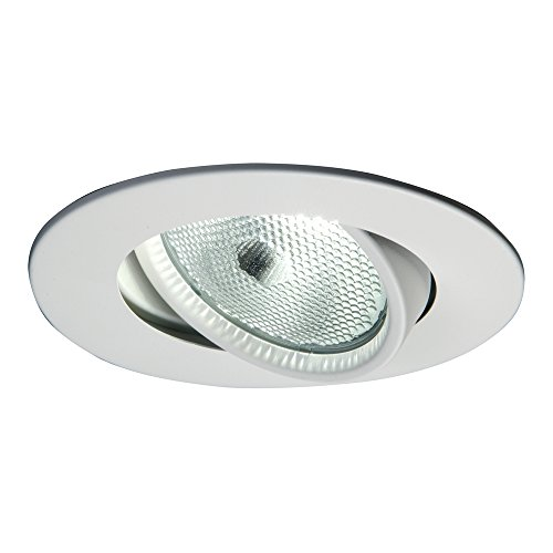 Halo Recessed 5060P 5-Inch Trim with Gimbal, White - 25 Trim Reflector