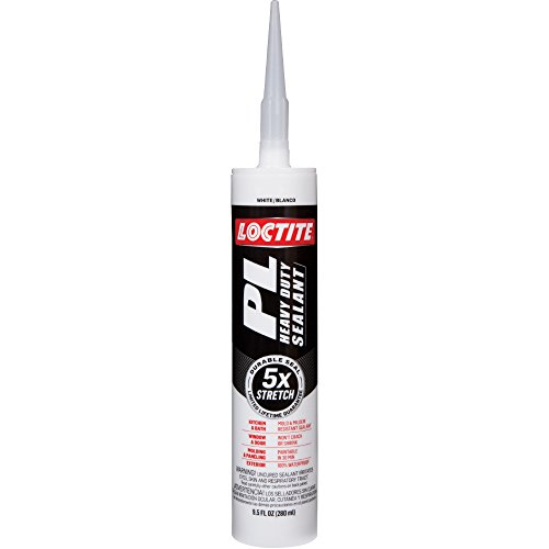 Loctite PL Heavy Duty Sealant, 9.5-Ounce Cartridge, 12-Pack (2141743-12) by Loctite
