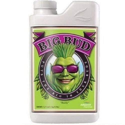 Advanced Nutrients Big Bud Liquid 250ml Bloom Booster Enhancer Fertilizer