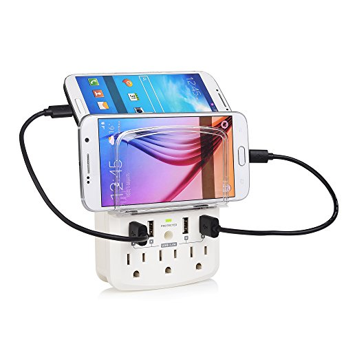 Cable Matters 3 Outlet Protector Micro USB