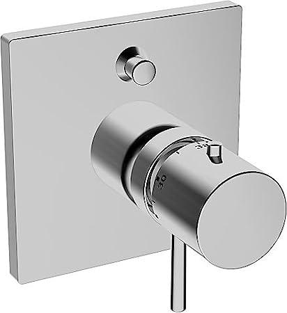 Hansa - 41149562 living parte exterior embellecedor varox termostato de baño/ducha con llave de
