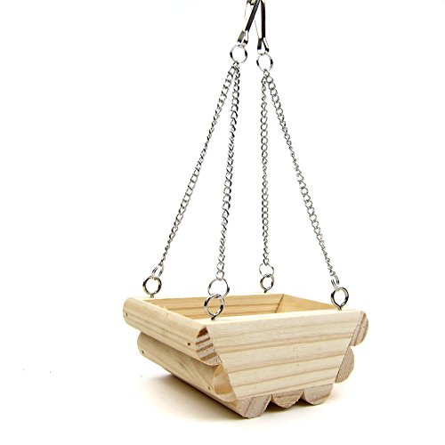 Alfie Pet by Petoga Couture - Simon Wooden Swing Toy for Mouse, Chinchilla, Rat, Gerbil and Dwarf Hamster