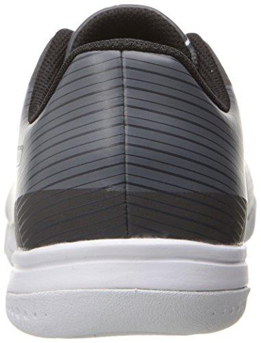 PUMA Kids' Evospeed Star S Jr Skate Shoe, Asphalt Black-Quiet Shade White, 6.5 M US Big Kid