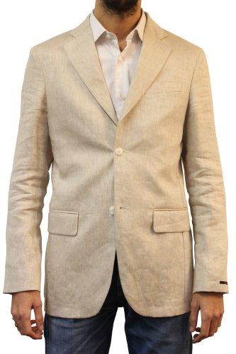 Pierre Cardin jacket in linen Zircon - 50