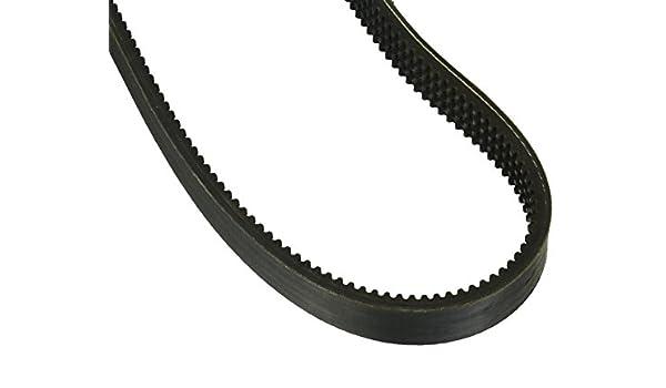 D/&D PowerDrive VB54 Walker Turner Replacement Belt A//4L Belt Cross Section Rubber 56 Length