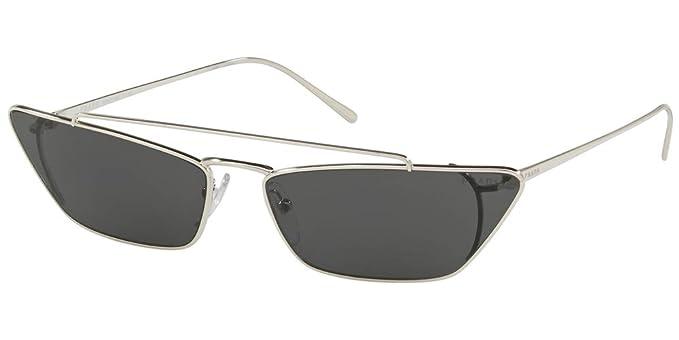 Prada 1BC5S0, Gafas de sol para Mujer, Silver 45: Amazon.es ...