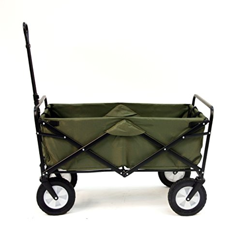 Mac Sports Collapsible Folding Outdoor Utility Wagon, - Fence Canvas