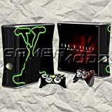 The X Files Xbox 360 Skin Set - Console with 2 Controllers