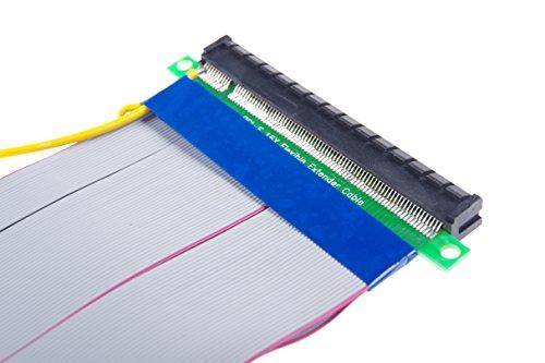 KNACRO PCI-E 16X Extension Cable 164-Pin Graphics Extension Cable External 12V Power Supply by KNACRO (Image #7)