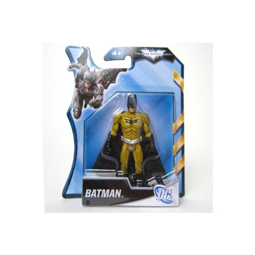 Batman - The Dark Knight Rises - Gold And Black Batman 4 Inch Figure (Batman Black Knight Rises)