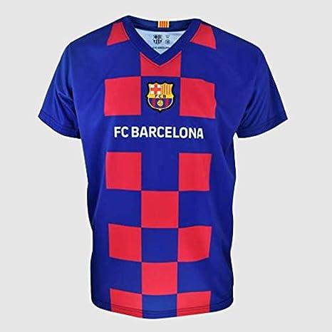 Camiseta Fan FC. Barcelona 2020 - Producto con Licencia - Niño Talla 10 años: Amazon.es: Deportes y aire libre