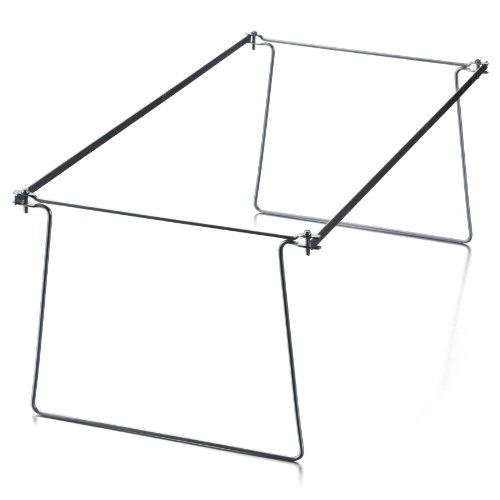 Large Product Image of Officemate Hanging File Frame, Letter Size, Adjustable 14 to 18-Inches, 2 Pack (91990)