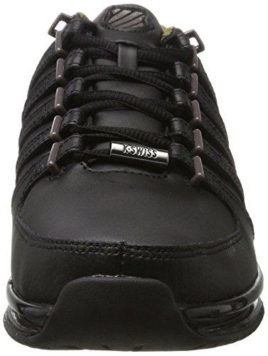 K-Swiss Herren Rinzler SP Sneaker Schwarz (Black/Gunmetal/Camo)