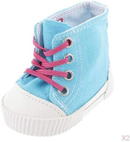 SM SunniMix 人形 靴 スニーカー シューズ ブーツ 18インチアメリカンガール人形用 アクセサリー