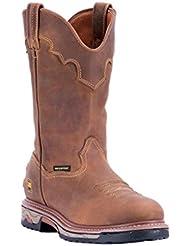 Dan Post Western Boots Mens Round Unit Waterproof Saddle DP69502