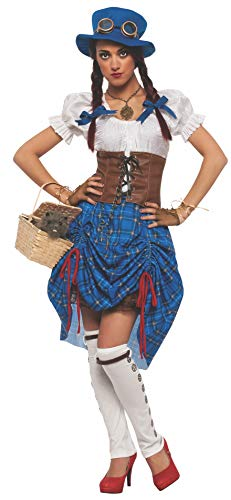 Rubie's Women's Wizard Of Oz 75Th Anniversary Adult Steampunk Dorothy, Multicolor, -
