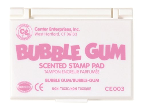 Center Enterprise CE003 Bubble Gum Scented Stamp Pad, Pink
