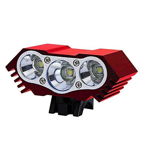 3000 Lumen Foonee USB White LED Bicycle Bike Head Light Waterproof Cycling Lights Rechargeable Bicycle Headlight Road Bike Bycicle Accessories for Kids & Adult