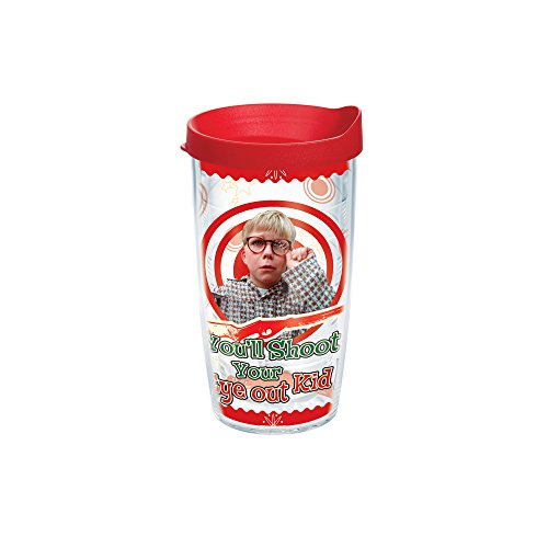 Tervis 1163566 Tumbler with Red Lid, 16-Ounce, Christmas ...