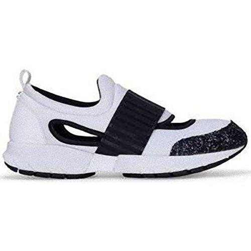Armani - Zapatillas para mujer Bianco