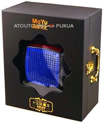 MoYu 15x15 Magic Cube 15x15x15 Stickerless Boite: Amazon.es: Juguetes y juegos