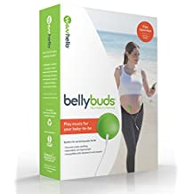 BellyBuds (5th Generation) | Prenatal Pegnancy Headphones | Belly Phones That Play Music & Voices For The Brain Development Of Your Unboard Baby | Perfect Baby Shower Gift