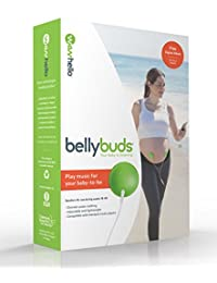 BellyBuds by WavHello, Pregnancy Baby-Bump Headphones | Prenatal Bellyphones Play Music, Sound and Voices to the Womb - 5th Generation BOBEBE Online Baby Store From New York to Miami and Los Angeles