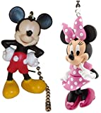Deluxe Mickey Mouse & Minnie Mouse Ceiling Fan Pull