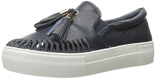 J Slides Jslides Womens Aztec Fashion Sneaker Blu Scuro