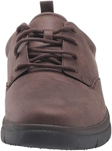 Clarks Men's Tunsil Lane Oxford, Brown Synthetic, 7 UK
