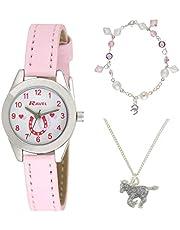 Ravel R2213 - Reloj analógico de cuarzo con correa de plástico rosa