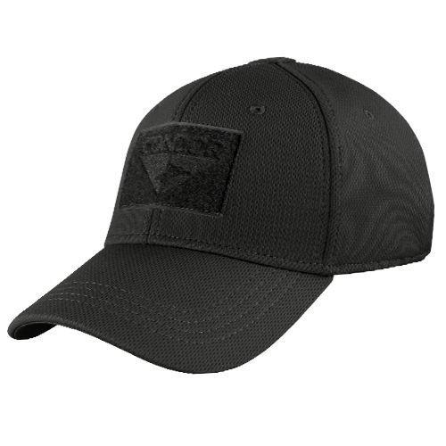 Condor Flex Fit Cap Hat - Black - Small - 161080-002-S - New