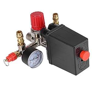 Regulador de Presión de Válvula de Presión Interruptor de