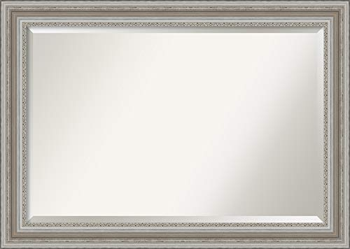 Amanti Art Framed Vanity Mirror | Bathroom Mirrors for Wall | Parlor -