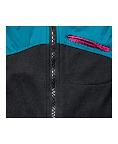Under Armour Girls UA Extreme CG Jacket, Black (001)/Rebel Pink, Youth Medium