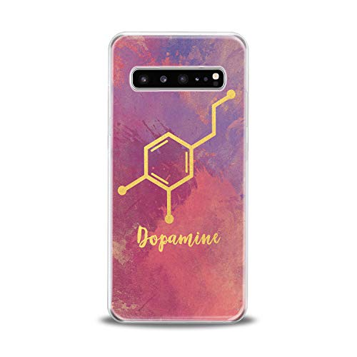 Lex Altern TPU Case for Samsung Galaxy s10 5G Plus 10e Note 9 s9 s8 s7 Clear Dopamine Formula Silicone Hormone Cover Print Protective Lightweight Flexible Girl Science Women Soft Smooth Chemistry Glam]()