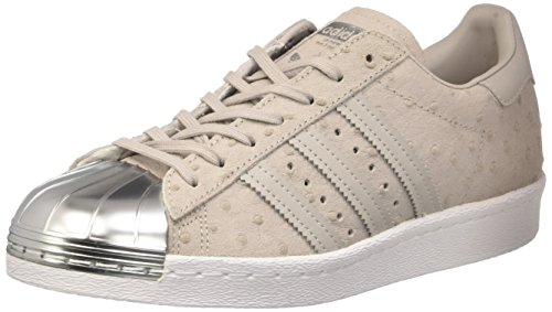 38 Toe chaussures W 80s Gris Superstar EU adidas Metal qxv00t