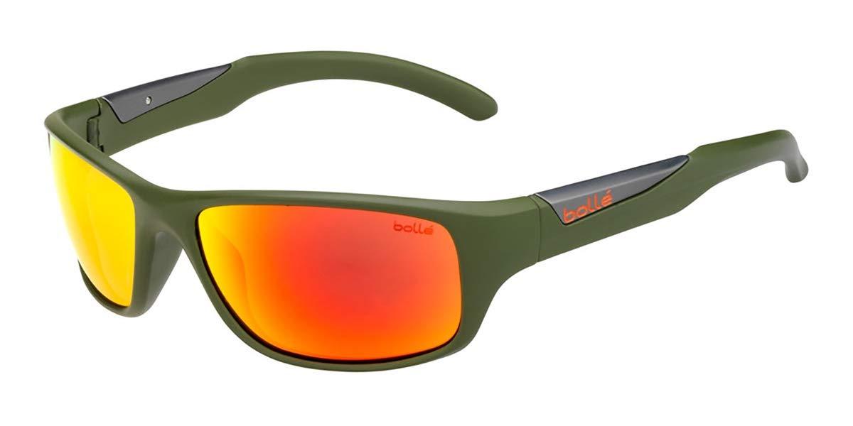 Bollé Vibe Sunglasses Matte Olive Medium Unisex
